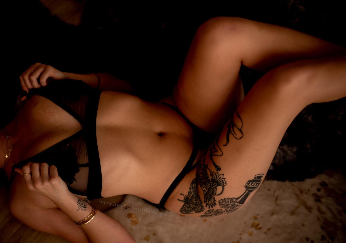 New Jersey Boudoir Tattoos
